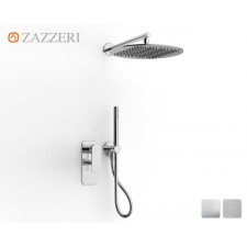 Design Unterputz-Duscharmatur Zazzeri 100 mit rundem Duschkopf L