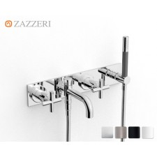 Design Unterputz Wannenarmatur Zazzeri DaDa 2 zur Wandmontage