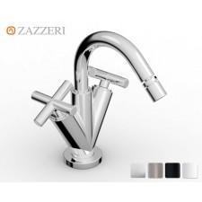 Design Einloch Bidetarmatur Zazzeri DaDa 2 mit Bogenauslauf