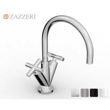 Design Einloch Waschtischarmatur Zazzeri DaDa 2 mit Bogenauslauf