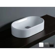 Keramik Aufsatzwaschbecken Flair 53 Oval