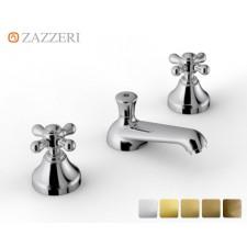 Nostalgie Dreiloch Waschtischarmatur Zazzeri 802