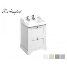Retro Waschtisch mit Unterbau Classic 65 Drawer