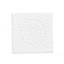 Studio Wandfliese Relieve Mandala Universe Snow Cap 14,8 x 14,8 cm / 1 Stück