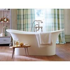 Freistehende Nostalgie Badewanne aus Mineralguss Aegean