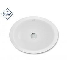 Shaws Keramik Unterbauwaschbecken Aira
