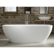 Freistehende Design Badewanne aus Mineralguss Amazo