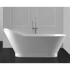 Freistehende Design Badewanne aus Mineralguss Arte
