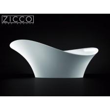 Design Mineralguss Aufsatz-Waschbecken Gaudi II