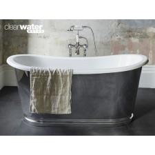 Freistehende Badewanne aus Clearstone Balthazar