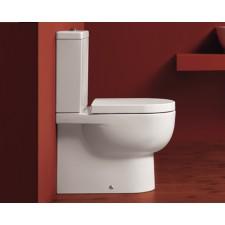 Design Keramik WC-Becken mit aufgesetztem Spülkasten Bari