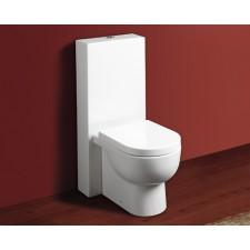 Design Keramik WC-Becken mit Spülkasten Bari