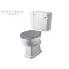 Retro Keramik WC-Becken mit aufgesetztem Spülkasten Fitzroy