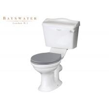 Retro Keramik WC-Becken mit aufgesetztem Spülkasten Porchester