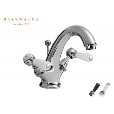 Retro Einloch Waschtischarmatur Bayswater Lever