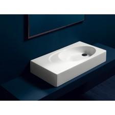 Keramik Aufsatz-Waschbecken Bottega Square 80