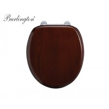 Burlington Bathrooms WC-Sitz Mahogany
