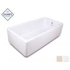 Shaws Keramik Küchenspüle Butler 100