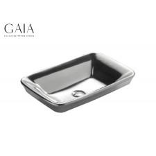 Keramik Einbauwaschbecken Carnevale Platinum