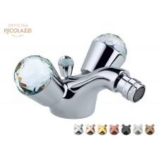Design 1-Loch Bidettischarmatur Cristallo