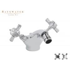 Retro Einloch Bidetarmatur Bayswater Crosshead
