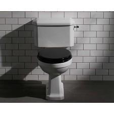Nostalgie Keramik WC-Becken De Morgan mit aufgesetztem Spülkasten