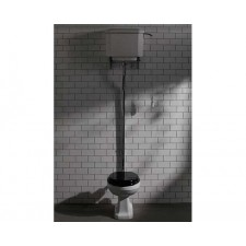 Nostalgie Keramik WC-Becken De Morgan mit hoch hängendem Spülkasten