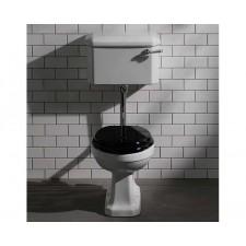 Nostalgie Keramik WC-Becken De Morgan mit hängendem Spülkasten