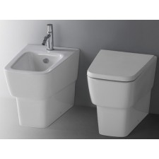 Keramik WC-Becken Delta wandbündig