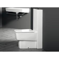 Keramik WC-Becken mit aufgesetztem Spülkasten Delta