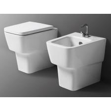 Keramik WC-Becken Delta XS wandbündig