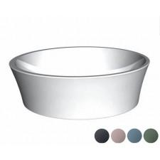 Mineralguss Aufsatz-Waschbecken Delicata