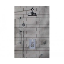 Nostalgie Unterputz Duscharmatur Derwent 2-Wege Weiß