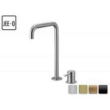 Design 2-Loch Waschtischarmatur Slimline Hochstehend