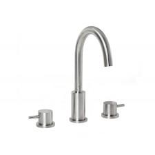 Design 3-Loch Waschtischarmatur Solito