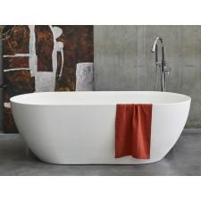 Freistehende Badewanne aus Clearstone Formoso Grande