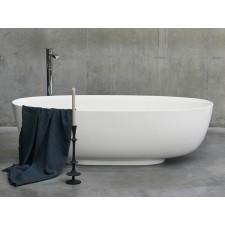 Freistehende Badewanne aus Clearstone Puro