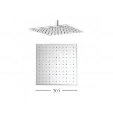 Design Regen Kopfbrause 300mm Zion