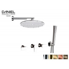 Design 2-Wege Unterputz Duscharmatur Regen Dusche Diva