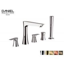 Design 5-Loch Wannenrandarmatur Diva