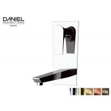 Design 2-Loch Waschtischarmatur zur Wandmontage Diva