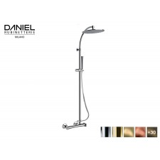 Design 2-Wege Aufputz Duscharmatur Diva