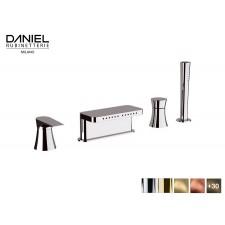 Design 4-Loch Wannenrandarmatur Diva