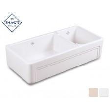 Shaws Keramik Küchenspüle Egerton