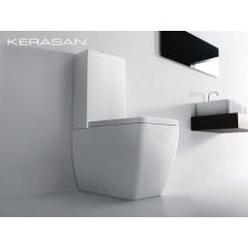Keramik WC-Becken Ego mit aufgesetztem Spülkasten