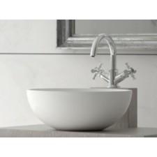 Mineralguss Aufsatz-Waschbecken Fili