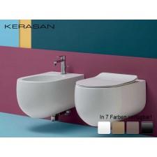 Keramik WC-Becken Flo wandhängend