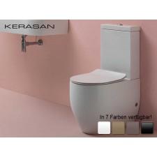 Keramik WC-Becken Flo mit aufgesetztem Spülkasten