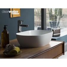 Aufsatz-Waschbecken aus Cleanstone Formoso