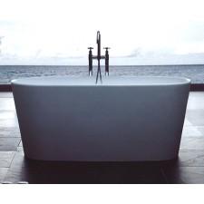 Freistehende Design Badewanne aus Mineralguss Petite